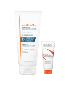 Ducray Anaphase+ Shampoo Antichute 200 ml & Δώρο Soin Apres Shampooing Fortifiant 50 ml