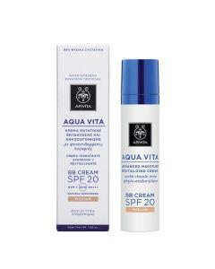 Apivita Aqua Vita BB Cream SPF20 Medium 40 ml