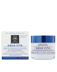 Apivita Aqua Vita Κρέμα-Gel εντατικής ενυδάτωσης λιπαρές-μικτές επιδερμίδες 50 ml