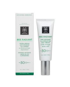 Apivita Bee Radiant Age Defense Illuminating Day Cream SPF30 40 ml
