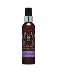Apivita Caring Lavender moisturizing & relaxing body oil 150 ml