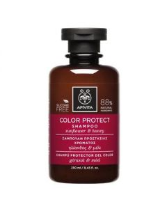 Apivita Hair Care Shampoo Color Protect sunflower & honey 250 ml
