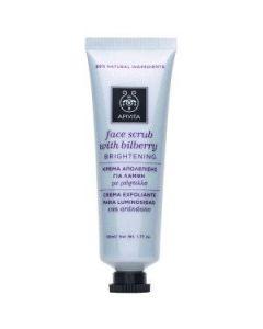 Apivita Face scrub Bilberry Brightening 50 ml