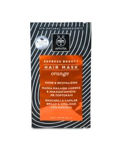 Apivita Express Beauty Hair Mask orange Shine & Revitalizing 20 ml