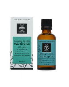 Apivita Natural oil Massage oil Eucalyptus  50 ml