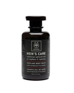 Apivita Men's Care Hair-Body wash cardamon & propolis 250 ml