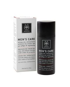 Apivita Men's Care Moisturizing cream-gel cedar & propolis 50 ml