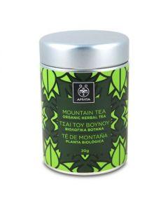Apivita Organic Herbal Tea Τσάι Βουνού 20 gr