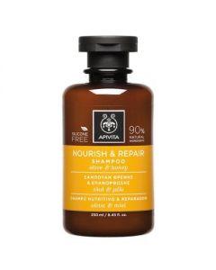 Apivita Hair Care Shampoo Nourish & Repair olive & honey 250 ml