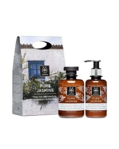 Apivita Pure Jasmine Shower gel 300 ml & Body milk 200 ml