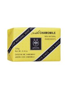 Apivita Natural Soap Chamomile 125 gr
