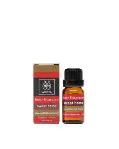 Apivita Home fragrance Sweet Home essential oil blend 10 ml