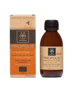 Apivita Propolis Kids Organic Throat syrup honey & thyme 150 ml