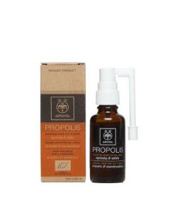 Apivita Propolis Organic Throat spray propolis & marshmallow 30 ml
