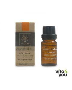 Apivita Essential oil Organic Orange 10 ml