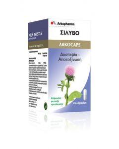 Arkopharma Arkocaps Σίλυβο - Milk Thistle 45caps
