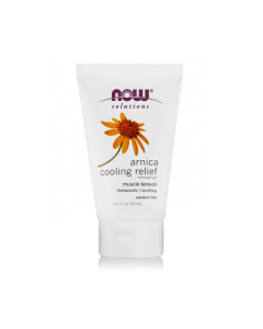 Now Solutions Arnica Cooling Relief Massage gel 59 ml