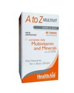 Health Aid A to Z Multivit 90 tabs