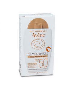 Avene Fluide Mineral Teintee SPF50+ 40 ml