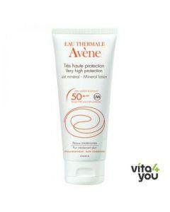 Avene Lait Mineral SPF 50+ 100 ml