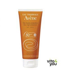 Avene Lait SPF 50+ 100 ml