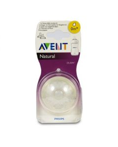 Avent Θηλή Natural 0m+ μηνών