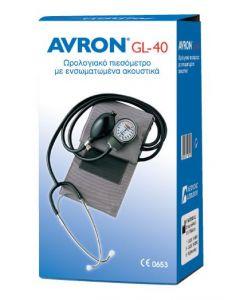 Avron GL-40 Ωρολογιακό Πιεσόμετρο ενσωματωμένο