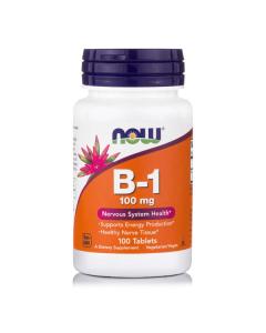 Now Vitamin B-1 100 mg 100 tabs