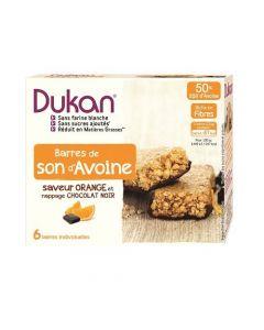 Dukan Orange Flavour Dark Chocolate Coated Oat Bran Bar 150 gr