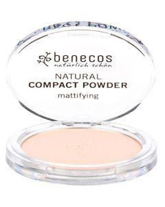 Benecos Natural Compact Powder Mattifying Fair 9 gr