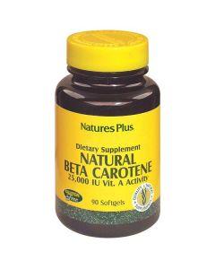Nature's Plus Natural Beta Carotene 25000 IU 90 softgels
