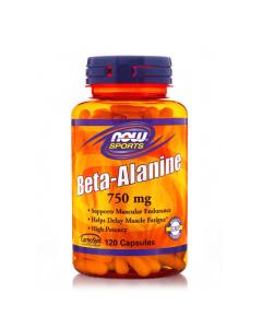 Now Sports Beta Alanine 750 mg 120 caps