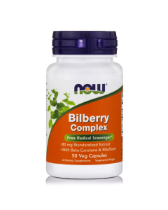 Now Bilberry Complex 50 caps