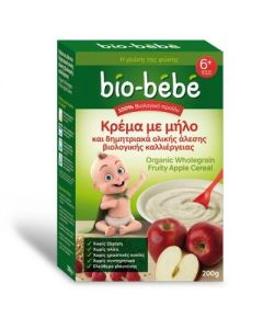 Bio Bebe Apple and whole grain cereal porridge 200 gr