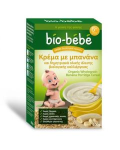 Bio Bebe Banana and whole grain cereal 200 gr