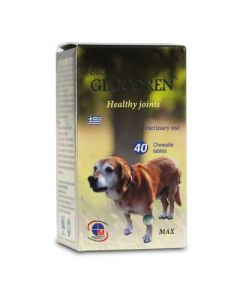 Medichrom Bio Glucoren Healthy joints Veterinary use 40 chewable tabs