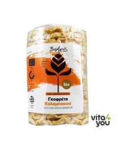 Βιο-Αγρός Γκοφρέτα καλαμποκιού χωρίς γλουτένη 100 gr