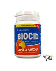 Biostam Pharmaceuticals Biocid 40 chewable tabs