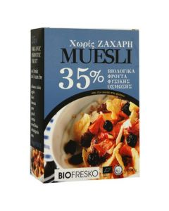 BioFresko Fruits muesli 35% 350 gr