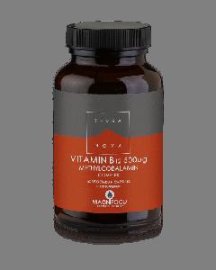 Terra Nova Vitamin B12 500 μg methylcobalamin complex 50 veg caps