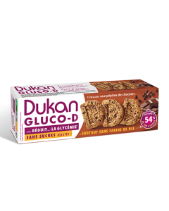 Dukan Biscuits Gluco-D Chocolate Chips 100 gr