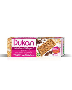 Dukan Chocolate Chips Oat Bran Biscuits 225 gr