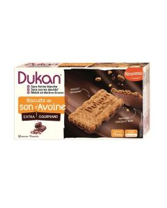 Dukan Chocolate Coated Oat Bran Biscuits 200 gr