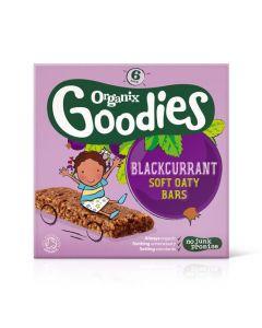 Organix Goodies Blackcurrant soft Oaty Bars 6 x 30 gr