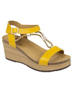 Dr Scholl Blance Ochre Sandal