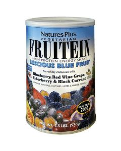 Nature's Plus Fruitein Luscious Blue Fruit Shake 576 gr