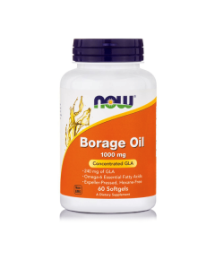 Now Borage Oil 1050 mg 60 softgels