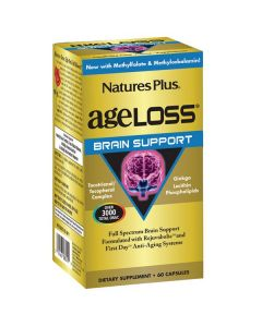 Nature's Plus Ageloss Brain Support 60 caps
