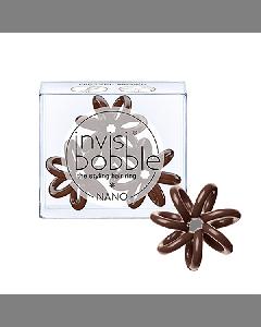 Invisibobble Nano Pretzel Brown Hair Rings
