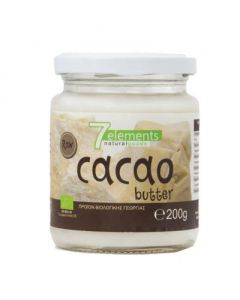 7elements Cacao butter organic 200 gr